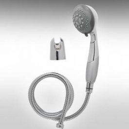 ערכת מקלחת הכוללת – מוט, מזלף, צינור וסבוניה