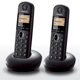 טלפון אלחוטי + שלוחה Panasonic KX-TGB212