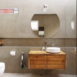 תנור אמבטיה אינפרה 1500W